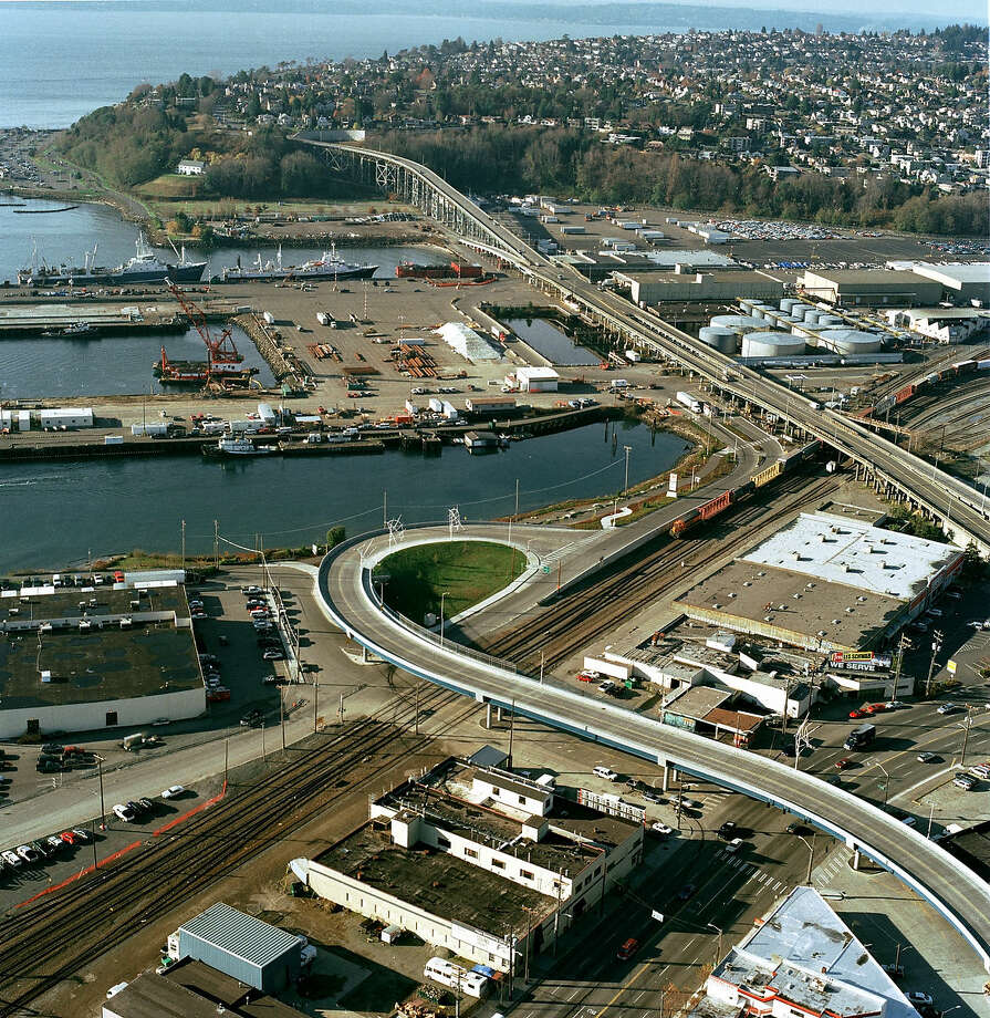 Magnolia Bridge, Interbay Photo: Seattle Municipal Archives/flickr