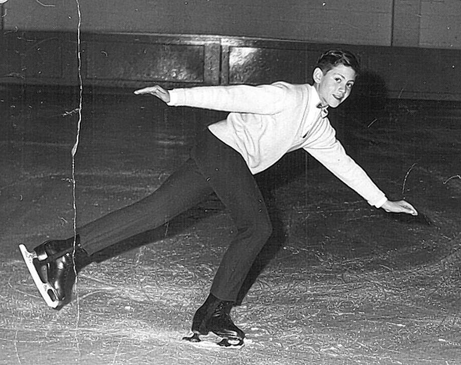Goodrich, a top luxury real estate agents who is always vying to make a deal, was competitive even as a boy when he was a competitive ice skater. Photo: Courtesy Of Joel Goodrich / Courtesy Joel Goodrich / ONLINE_YES
