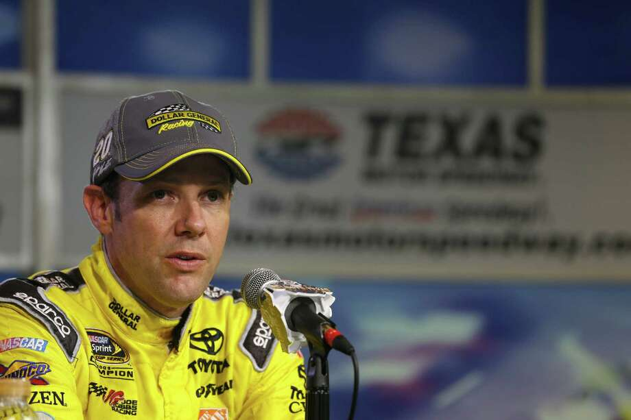 FORT WORTH, TX - OCTOBER 31:  Matt Kenseth, driver of the #20 Dollar General Toyota, speaks at a press conference following Pinnacle Propane Qualifying for the NASCAR Sprint Cup Series AAA Texas 500 at Texas Motor Speedway on October 31, 2014 in Fort Worth, Texas.  (Photo by Brian Lawdermilk/Getty Images) ORG XMIT: 521043001 Photo: Brian Lawdermilk / 2014 Getty Images