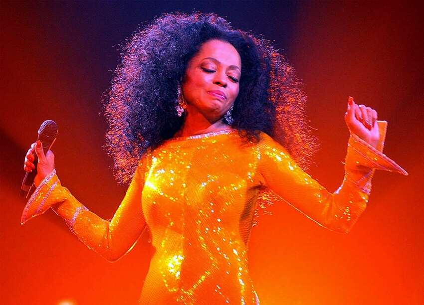 DUBLIN, IRELAND - MARCH 10: Singer Diana Ross performs at The Point Theatre March 10 2004 in Dublin, Ireland. (Photo by ShowBizIreland/Getty Images)