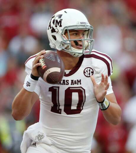 True freshman Kyle Allen was Rival.com's No. 1 quarterback prospect in the class of 2014 when he committed to Texas A&M. Photo: Karen Warren, Staff / © 2014 Houston Chronicle