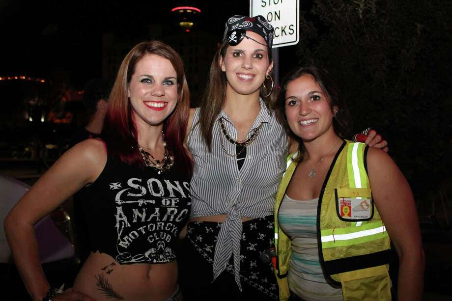 San Antonians had a blast at 13th Floor Haunted House during Halloween  on Friday night. Photo: By Yvonne Zamora, For MySA.com