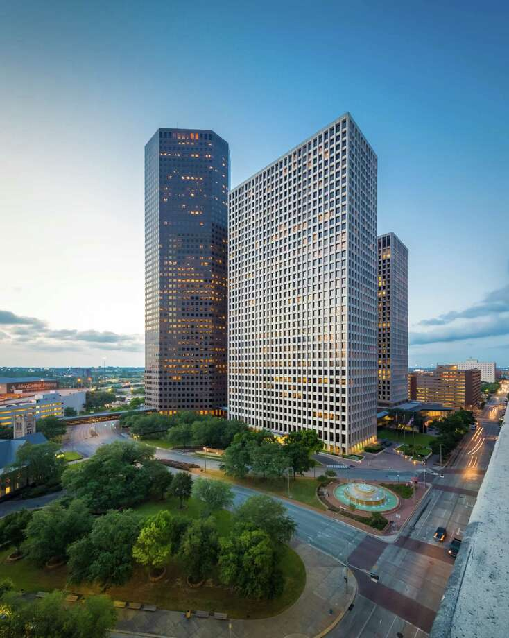 Allen Center, a 3.1 million-square-foot office complex at Bagby and Dallas Street in downtown Houston, is 95 percent leased. Photo: ShauLin Hon / Slyworks Photography
