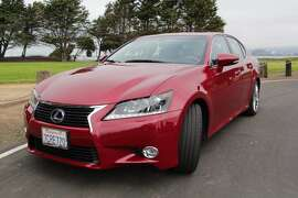 The 2014 Lexus GS450h is a four-door sedan that gets 29/34 mpg (city/highway) and, with options, retails for $70,649. (All photos by Michael Taylor.)
