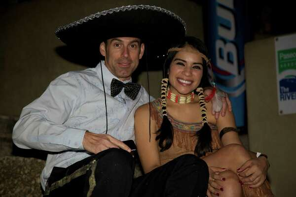 Bud Light took over the River Walk Halloween night for its Halloween Fest, which featured a river parade, costume contest and live music.