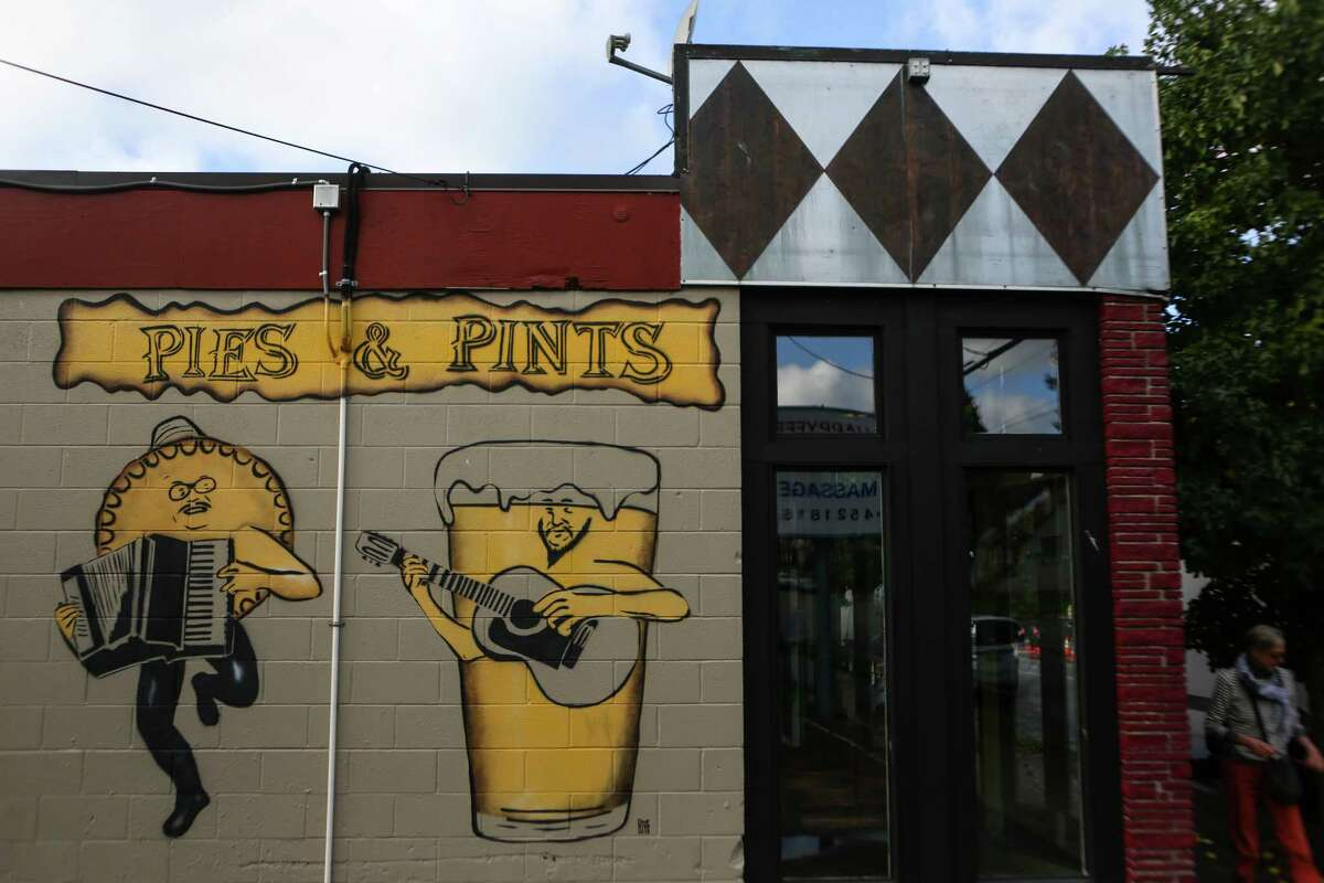 Pies & Pints. Photographed on October 24, 2014.