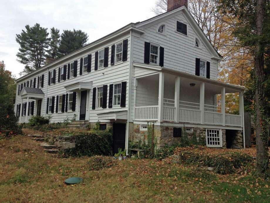 This home built in the 1760's on Round Hill Road could be torn down in coming months. A six-bedroom home and swimming pool would replace it. Photo: Robert Marchant, Anne W. Semmes / Greenwich Time