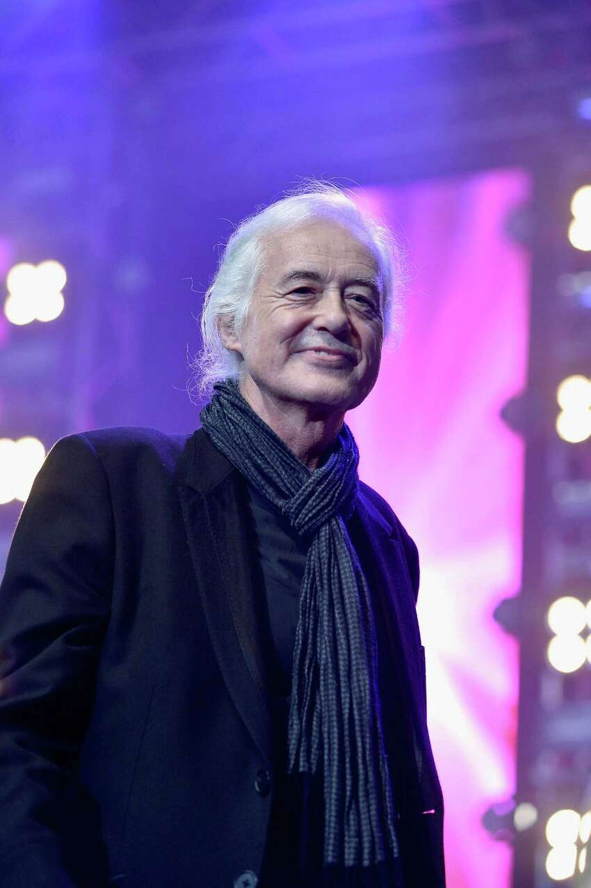 Jimmy Page, 70 The former Led Zeppelin guitarist has been working on reissues of that band's catalogue and hints to Rolling Stone that he'll have new solo music in 2015.