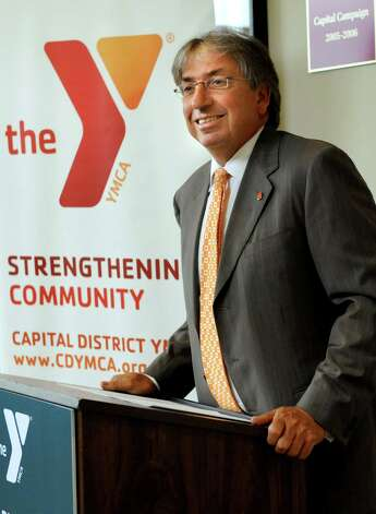 David Buicko, chief operating officer of the Galesi Group, speaks during a news conference on Wednesday, Aug. 14, 2013, at the Albany Branch of the Capital District YMCA in Albany , N.Y. (Cindy Schultz / Times Union) Photo: Cindy Schultz / 00023464A