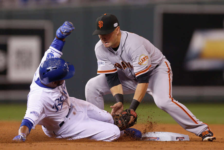 Rookie second baseman Joe Panik hit .305 during the regular season and had a home run in the NLCS. Photo: Scott Strazzante / The Chronicle / ONLINE_YES