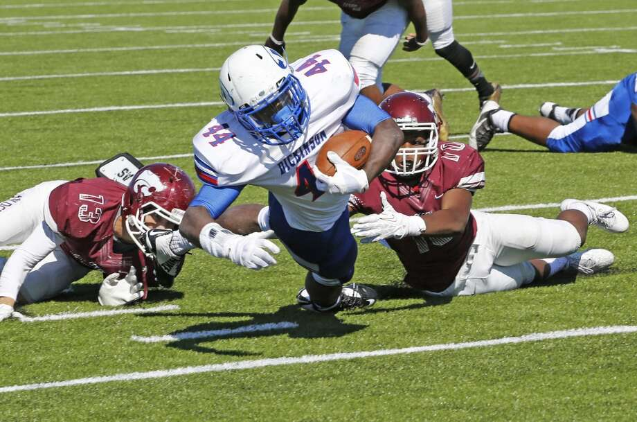 It's the game football fans on the southeast side of town have been waiting for all season. Clear Creek (8-0, 5-0) and Dickinson (8-0, 5-0) have survived close calls in recent weeks in District 24-6A play, but both have made it to the penultimate week of the regular season unscathed - just like many expected when the schedule began. For the second year in a row, the winner will be the district champion. Both teams have prolific offenses so this one may come down to the team that has the ball last. Photo: Craig Hartley, For The Chronicle
