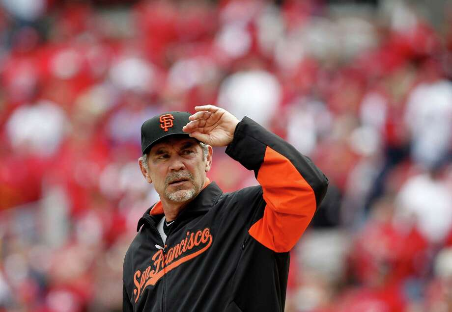 Honorable Mention: Bruce Bochy - San Francisco Giants. Photo: Michael Macor, SFChronicle / ONLINE_YES