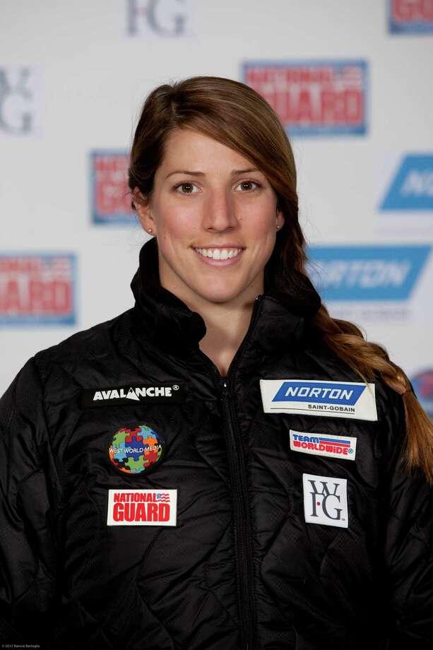 USA luge team member Erin Hamlin. (Courtesy Nancie Battaglia) Photo: Nancie Battaglia / © 2012 Nancie Battaglia