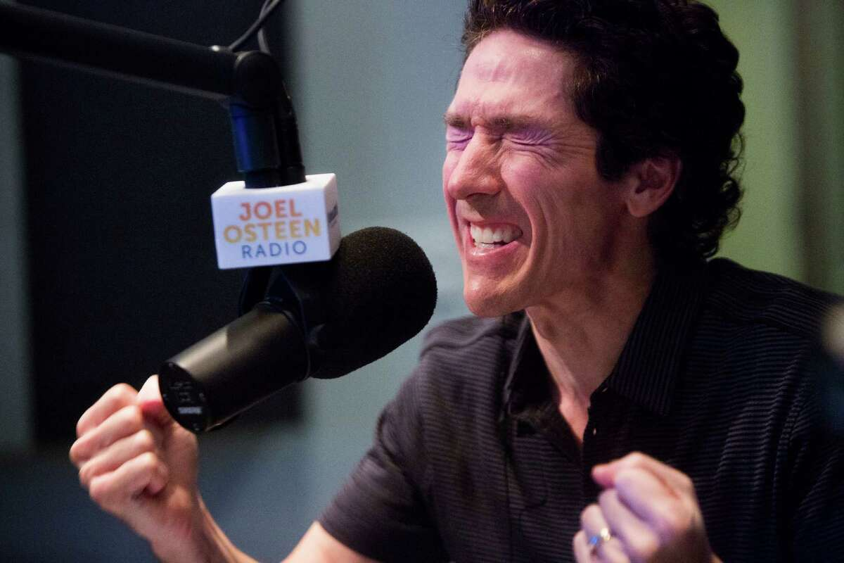 """Joel Osteen prayed for the callers who spoke with him Monday during his radio show, """"Joel Osteen Live,"""" on the newly launched Joel Osteen Radio."""