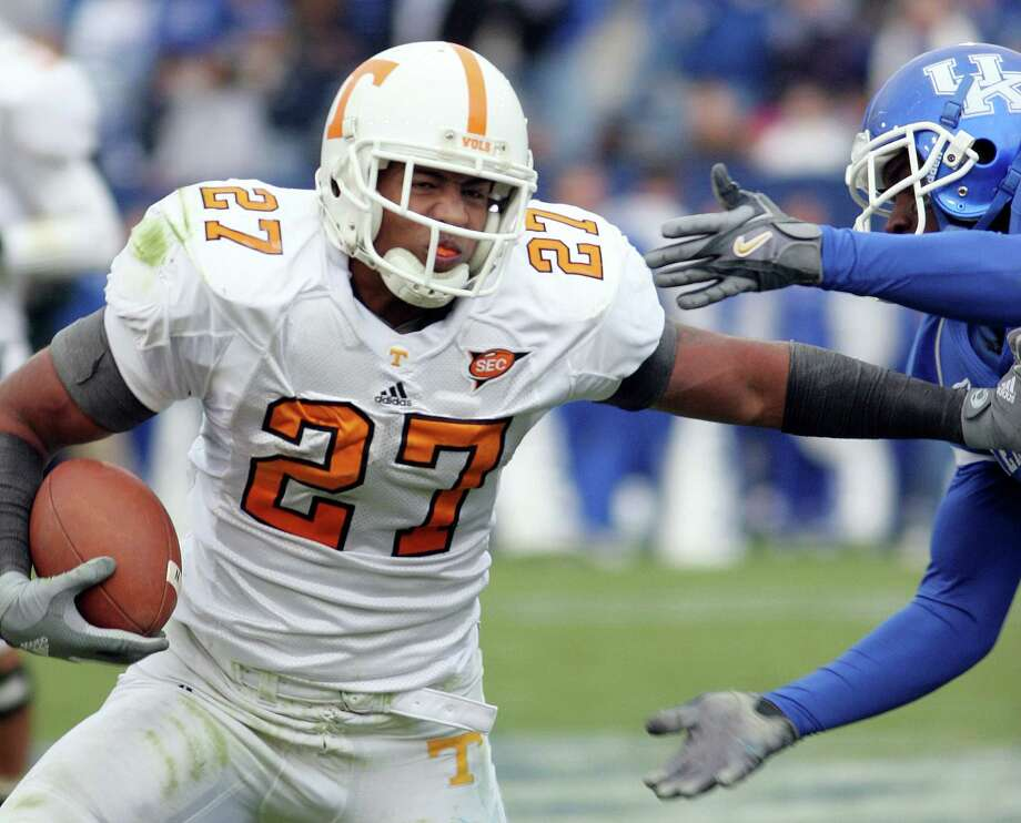 At Tennessee, Arian Foster had a checkered college career. But when he went undrafted, there were several NFL teams clamoring for his services. Photo: JAMES CRISP, STR / AP