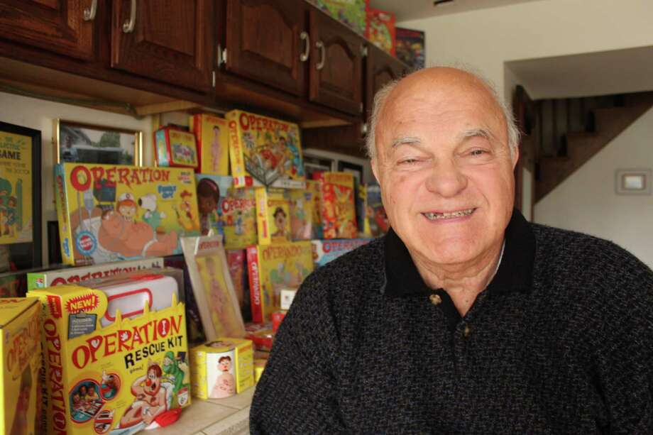 John Spinello, the creator of the board game Operation, never saw any royalties from it. Photo: Carrie Antlfinger, STF / AP