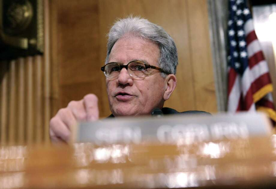 "Sen. Tom Coburn, R-Okla., who requested the study, says, ""We should fulfill our promises to the men and women who serve, but we need to streamline these duplicative programs."" Photo: Susan Walsh / Associated Press / AP"