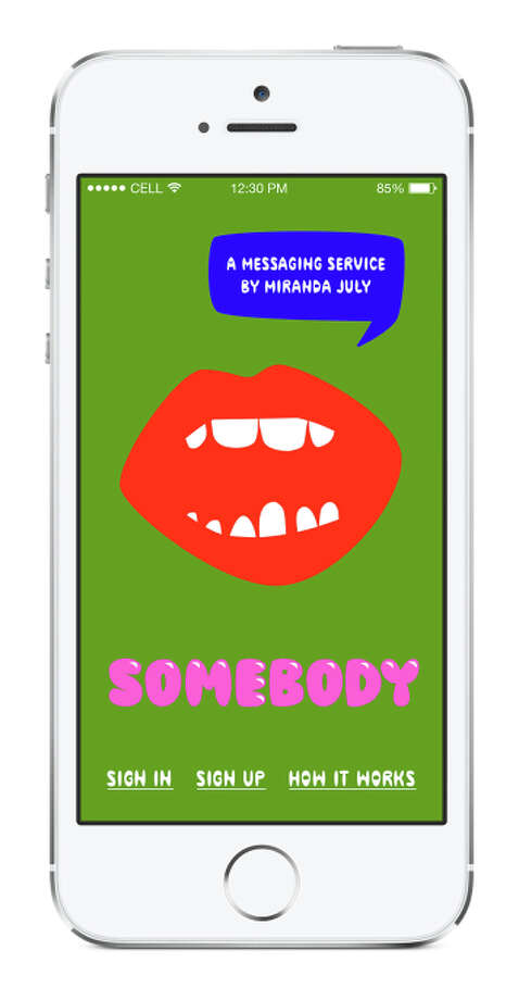 Miranda July, Somebody™, 2014 Created with support from Miu Miu. Photo: Miranda July / MIranda July / ONLINE_YES