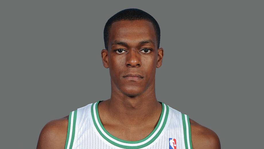 Rajon Rondo  Boston Celtics    2012 NBA photo Photo: NA