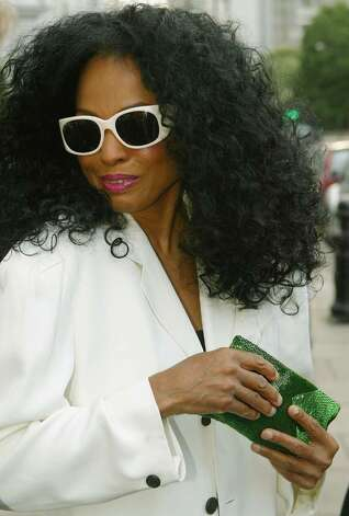 LONDON- JULY 1:  Singer Diana Ross arrives at the Tatler Summer Party in the Baglioni Hotel on July 1, 2004 in London. (Photo by Bruno Vincent/Getty Images) Photo: Bruno Vincent, Getty Images / 2004 Getty Images