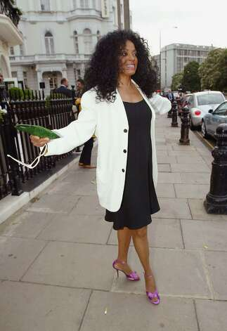 LONDON - JULY 1:  Singer Diana Ross arrives at the Tatler Summer Party in the Baglioni Hotel on July 1, 2004 in London. (Photo by Bruno Vincent/Getty Images) Photo: Bruno Vincent, Getty Images / 2004 Getty Images