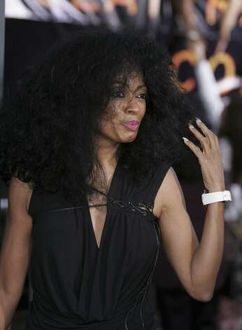 "LOS ANGELES - AUGUST 2:  Singer Diana Ross arrives at the World Premiere of ""Collateral"" at the Orpheum Theatre on August 2, 2004 in Los Angeles, California.  (Photo by Carlo Allegri/Getty Images) *** Local Caption *** Diana Ross Photo: Carlo Allegri, Getty Images / 2004 Getty Images"