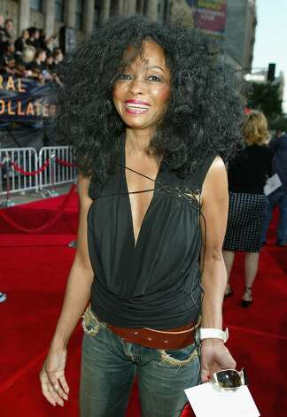 "LOS ANGELES - AUGUST 2:  Singer Diana Ross arrives at the World Premiere of ""Collateral"" at the Orpheum Theatre on August 2, 2004 in Los Angeles, California.  (Photo by Kevin Winter/Getty Images) Photo: Kevin Winter, Getty Images / 2004 Getty Images"