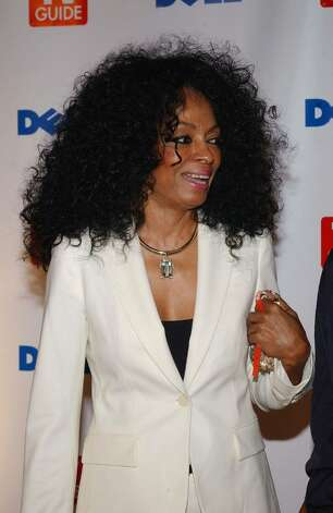 "WEST HOLLYWOOD, CA - SEPTEMBER 19: Singer Diana Ross arrives at TV Guide's Second Annual Emmy After Party on September 19, 2004 at ""TV Guide Central"" in West Hollywood, California. A highlight of the party was a special performance by rockers Velvet Revolver.  (Photo by Amanda Edwards/Getty Images) *** Local Caption *** Diana Ross Photo: Amanda Edwards, Getty Images / 2004 Getty Images"