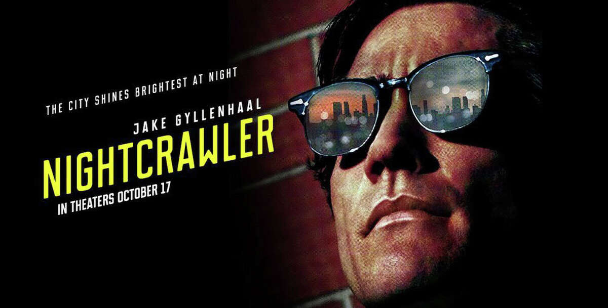 """Jake Gyllenhaal stars as a freelance video cameraman in """"Nighcrawler,"""" searching for carnage to record and sell for TV news broadcasts."""