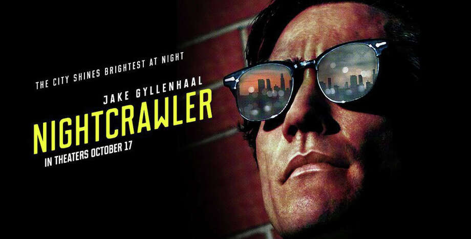 "Jake Gyllenhaal stars as a freelance video cameraman in ""Nighcrawler,"" searching for carnage to record and sell for TV news broadcasts. Photo: Contributed Photo / Westport News"