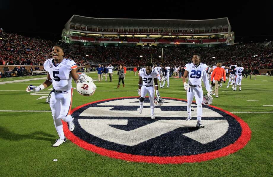 3. Auburn (7-1)  Last week: 4 Photo: Doug Pensinger, Getty Images