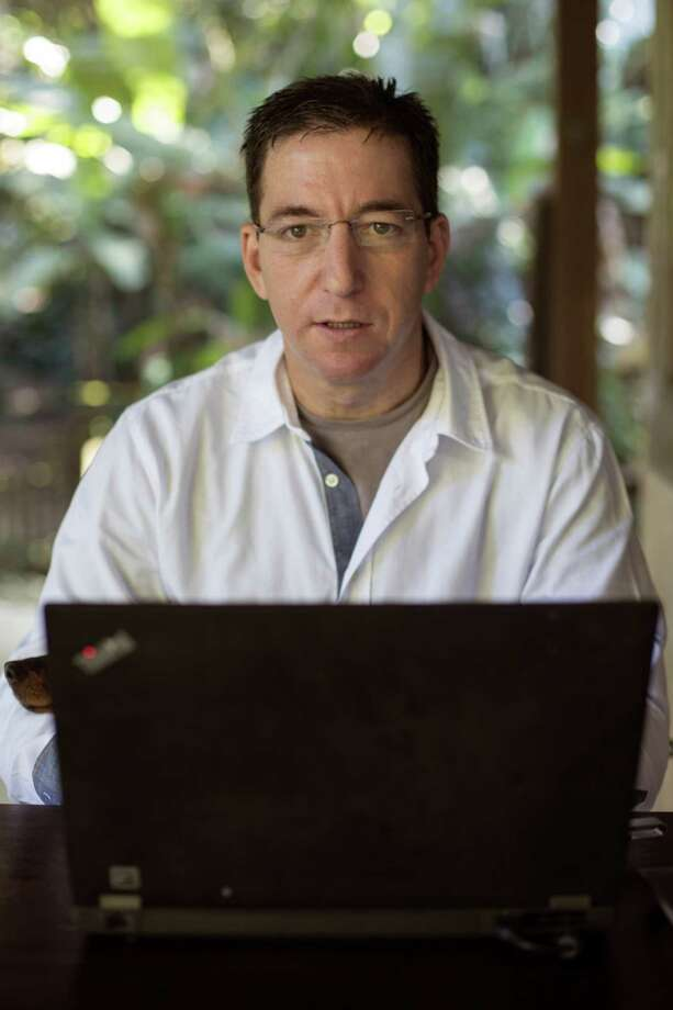 Journalist Glenn Greenwald recenlty wrote an insider's article on how Pierre Omidyar, who founded First Look Media, has struggeld to manage the aggressive reporters he hired for his journalsim startup. Photo: JIMMY CHALK / New York Times / NYTNS