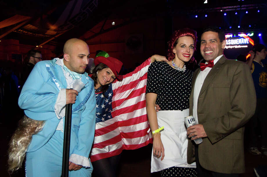 Were You Seen at the MasqueRave Mystique Halloween Party at the Washington Avenue Armory in Albany on Friday, October 31, 2014? Photo: Brian Tromans