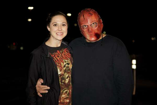 Fans turned out for Slipknot and Korn at the AT&T Center Sunday night.