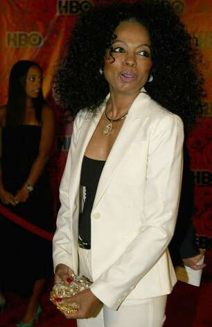 "LOS ANGELES - SEPTEMBER 19: Preformer Diana Ross attends ""HBO's Post Emmy Party"" at the Pacific Design Centre on September 19, 2004 in Los Angeles, California. (Photo by Mark Mainz/Getty Images) Photo: Mark Mainz, Getty Images / 2004 Getty Images"