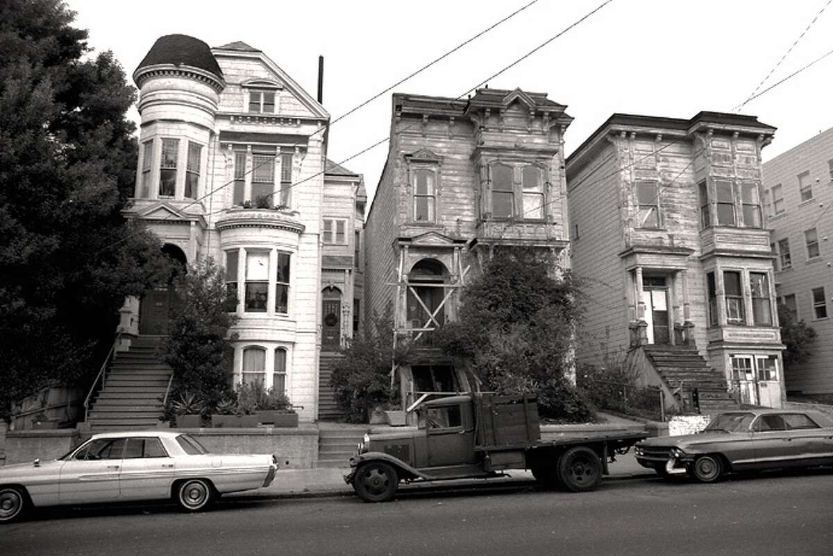 Page St., in the Western Addition, then. Photo: David Glass