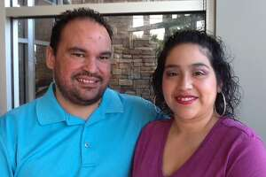 Bennie Garza, 30, and Sophia Morales, 31, pay almost $150 per month for Morales' 2014 health coverage under the Affordable Care Act.