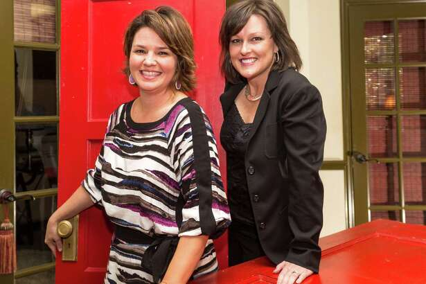 Red Door Realty & Associates, 7810 FM 1960 East, Humble, TX. L-R ID: Christi Harvey, Owner, Realtor; and Jill Henderson, Broker Owner, Realtor. Monday  September 29, 2014