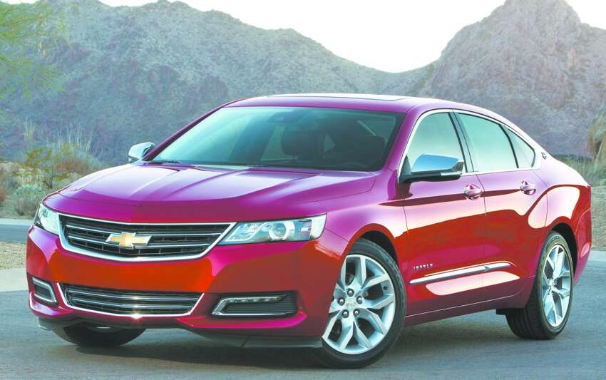 10. Chevrolet Impala Model year most stolen: 2008 Total thefts in 2016: 897