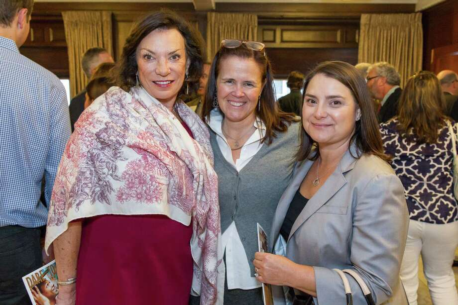 Paula Todd, Megan Stermer and Alima Connan at the 13th Annual Arc Angel Breakfast on October 24, 2014. Photo: Drew Altizer Photography/SFWIRE, Drew Altizer Photography / ©Drew Altizer Photography 2014