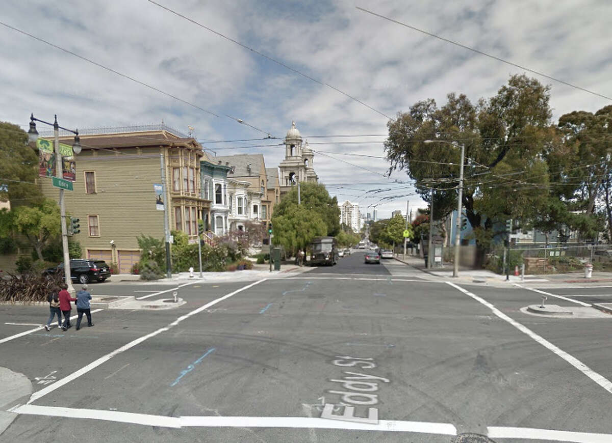 Iry Bivins, 18, was shot near the corner of Divisadero and Eddy on Nov. 1, 2014.