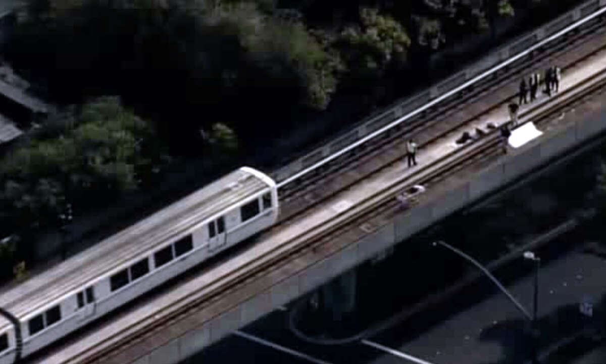 BART service between the Pleasant Hill and Pittsburg/Bay Point stations was halted in both directions Monday morning because of a dead body on the tracks.