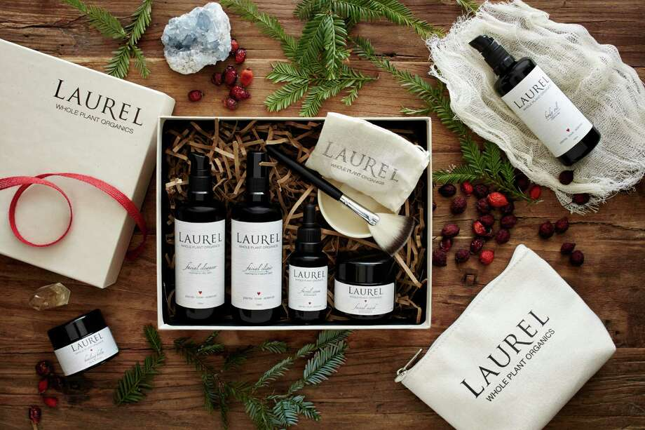 Laurel Whole Plant Organics new full-size gift boxes. $228, www.laurelskin.com. Photo: Trinette Reed Photography / Laurel Whole Plant Organics / ONLINE_YES