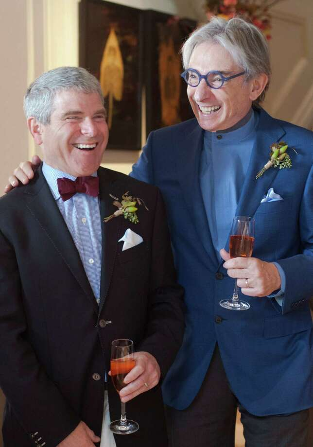 Joshua Robison and Michael Tilson Thomas: married