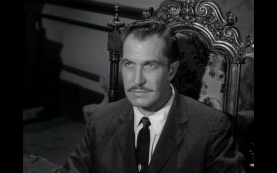 """Vincent Price in """"The House on Haunted Hill"""" (1959), part of """"The Vincent Price Collection II."""" Photo: Scream Factory / Scream Factory / ONLINE_YES"""