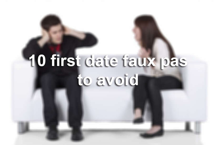 10 first date faux pas to avoid Photo: Getty Images