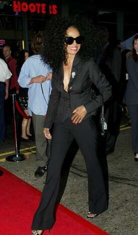 "HOLLYWOOD - SEPTEMBER 20:  Singer Diana Ross arrives at the film premiere of ""Ladder 49"" at El Capitan Theatre on September 20, 2004 in Hollywood, California.  (Photo by Mark Mainz/Getty Images) Photo: Mark Mainz, Getty Images / 2004 Getty Images"