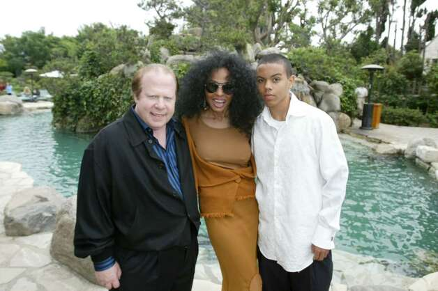 BEVERLY HILLS, CA - OCTOBER 16:  Wildlife WayStation's Aurther Kassel, singer Diana Ross and son Evan Naess are seen inside at the 10th Annual Safari Brunch on October 16, 2004 at the Playboy Mansion in Beverly Hills, California. (Photo by Frazer Harrison/Getty Images) Photo: Frazer Harrison, Getty Images / 2004 Getty Images