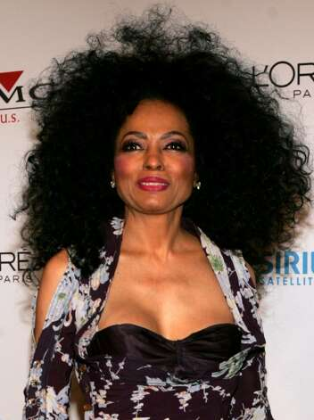 BEVERLY HILLS, CA - FEBRUARY 12:  Singer Diana Ross arrives at the Clive Davis Annual Grammy Party at the Beverly Hills Hotel on February 12, 2005 in Beverly Hills, California.  (Photo by Frank Micelotta/Getty Images) Photo: Frank Micelotta, Getty Images / 2005 Getty Images
