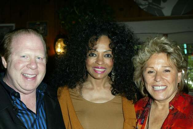 BEVERLY HILLS, CA - OCTOBER 16:  Chairman of the Wildlife WayStation board Bob Lorsch, singer Diana Ross and founder/director of Wildlife WayStation Martine Colette arrive at the 10th Annual Safari Brunch on October 16, 2004 at the Playboy Mansion in Beverly Hills, California.  (Photo by Frazer Harrison/Getty Images) Photo: Frazer Harrison, Getty Images / 2004 Getty Images